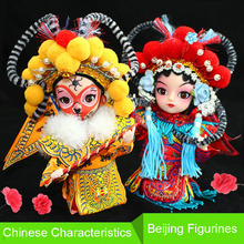 High Quality and Best Price Chinese Old Style Ancient BeiJing Opera Figurine Dolls Home Decorations Silk Doll Statue Good Gift