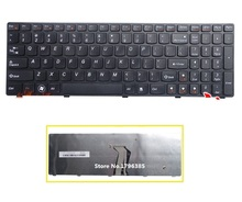 SSEA Brand New laptop US Keyboard For Lenovo Y500 Y500N Y510P Y500NT laptop free shipping