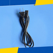 2 pcs US 2-Prong Two Prongs Port AC Power Cord Cable Connector for PS2 PS3 Slim New(China)