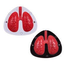 Quit Smoking Cigar Ashtrays Coughing and Screaming Lung Shape Stop Cigarett Ash Trays Healthy Life Care(China)