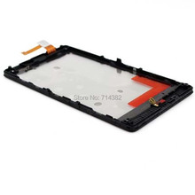 For Nokia Lumia 820 Outter Touch Screen Panel Digitizer Glass Lens + Frame Bezel Housing Repair Parts Replacement