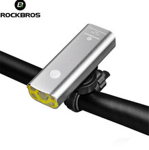 Buy ROCKBROS Bicycle Rechargeable Light Cycling Flashlight Waterproof Bike Headlight Bicycle Front Lamp Bike Accessories for $13.76 in AliExpress store