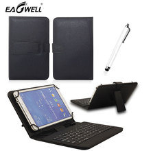 Buy Universal Micro USB Keyboard Leather Stand Case Cover 10 10.1 Inch Android Tablet PC Samsung Lenovo Tablet Keyboard Case for $12.94 in AliExpress store