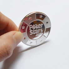 Buy Poker Cards Guard Protector,Metal Token Coin Plastic Cover Metal Chip Poker Stars Silver Color Souvenir for $5.15 in AliExpress store