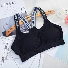 Women Comfy Seamless Padded Bra Tops Underwear Leisure Crop Sexy Tank Beach Vest With Chest pad