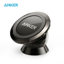 Anker Universal Magnetic Car Mount Ultra-Compact Phone Holder for iPhone 7 / 7 Plus / 6s / Samsung Galaxy S8 / S7 / S6 and more(China)