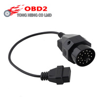 for BMW 20 pin to OBD2 16 PIN Female Connector 36 e39 X5 Z3 for BMW 20pin OBD 20 PIN OBD2 Adapter free shipping(China)