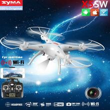 Buy SYMA X5SW WIFI RC Drone fpv Quadcopter Camera Headless 2.4G 6-Axis Real Time Remote Control Helicopter Quadcopter Toy for $78.43 in AliExpress store