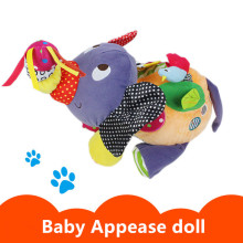 Big 42X30X26CM Cute Elephant Baby Toys Mamas Papas Stroller Baby Rattles Mobiles Baby Early Educational Toys For Toddlers Doll