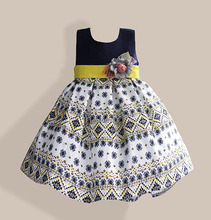Baby Girls Sun Dress Kids Summer Clothes Children Princess Dresses For Party And Wedding 3-8Y