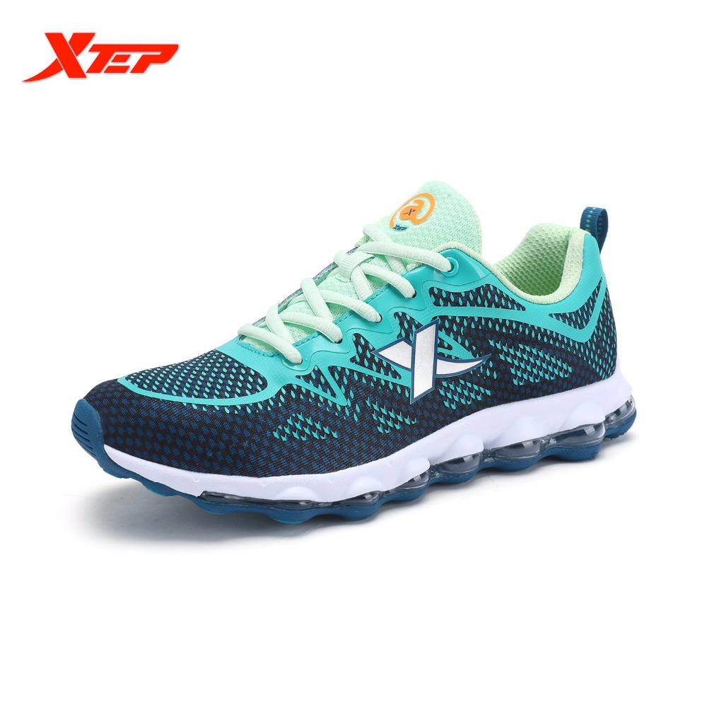 XTEP Brand Professional Running Shoes for Men Air Cushion Outdoor Sports Shoes DMX Techonology Athletic Sneakers 983119119201<br>
