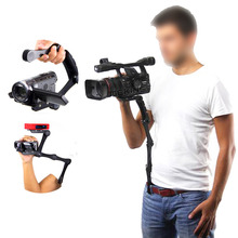 C Shape Camera Video Bracket Handle Handheld holder Stabilizer Grip for DSLR for Canon Nikon Sony Gopro SJCAM Xiaomi Yi Camera