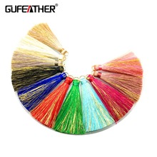 GUFEATHER/Tassel/jewelry accessories/accessories parts/jewelry findings/embellishments/diy accessories/hand made/jewelry making