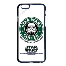 Star Wars Coffee Cover Case for Samsung Galaxy S3 S4 S5 Mini S6 S7 Edge Plus Note 2 3 4 5 iPhone 4 5 5S 5C 6 6S 7 Plus iPod 4 5