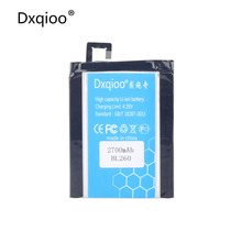 Buy Dxqioo Mobile phone battery fit Lenovo VIBE S1 Lite BL260 2700mah batteries for $13.05 in AliExpress store