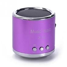 2016 Cheap FM Portable Speaker Z12 Mini Subwoofer Music Column Speakers Support USB Micro SD TF Card Mp3/4 For iphones Laptop PC