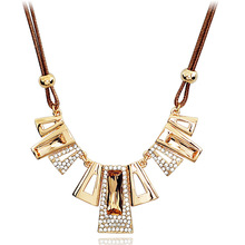 Korean Fashion Short Jewelry Chain Women's Accessories Decorative Pendant Necklace Exaggerated Statement