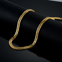 mens gold silver stainless necklace iced stainless hiphop chain steel black out for chains hip hop(China)