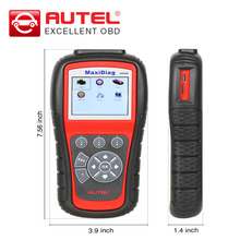 NEW ARRIVAL AUTEL MaxiDiag MD805 Full System Diagnostic-Tool Support OLS/EPB+CAN OBDII better than Autel MD802 Update Online(China)
