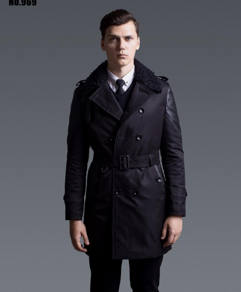 S-6XL ! Fashion winter coat men , Mens slim cotton-padded long coat mens winter jackets and coats with fur collar !Одежда и ак�е��уары<br><br><br>Aliexpress
