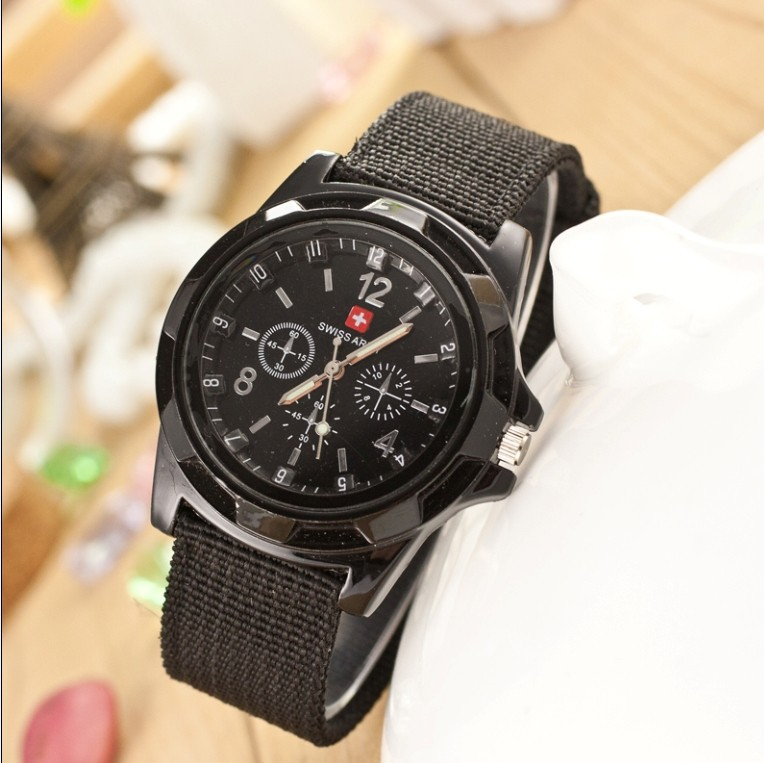 Famous Brand Army Soldier Military Watch Canvas Sports Watches Men Braided Rope Analog Quartz Wrist Watch Relogio Masculino<br><br>Aliexpress