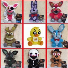 15-18CM Five Nights at Freddy's 2 plush Bonnie china foxy plush dolls stuffed animals plush freddy doll toy Children's gift