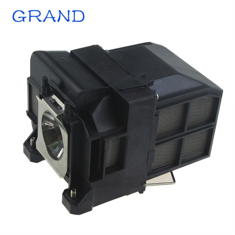 ELPLP75 V13H010L75 Compatible lamp for Epson EB-1940W EB-1945W EB-1950 EB-1955 EB-1960 EB-1965 /1940W  Projectors HAPPY BATE<br>