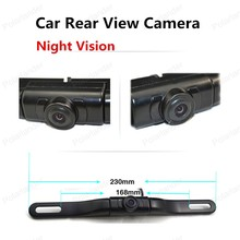 hot sell 170 degree view angle car license plate camera with IR led lights Night Vision car Rear View Camera