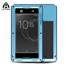 Buy Love mei FOR SONY XA1 Ultra Case 6inch Shockproof Gorilla Glass Metal Cover Aluminum Armor FOR SONY Xperia XA1 Ultra Case for $28.00 in AliExpress store