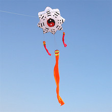 3D chinese vlieger kites inflatable soft Weifang kite eight diagrams kite large fun factory manufacturers outdoor toy beach bar(China)