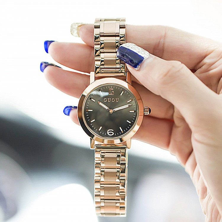 Luxury Women Casual Simple Quartz Watch Ladies Female Stainless Steel Dress Casual Wristwatch Watches Relogio Feminino OP001<br><br>Aliexpress