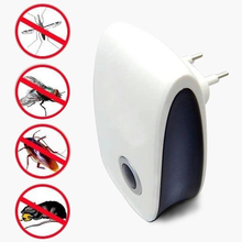 EU/US Plug Electronic ultrasonic anti pest bug mosquito cockroach mouse killer repeller pest reject(China)