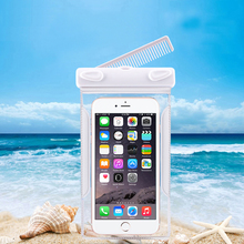 Waterproof Pouch Dry Case Cover For 6 inch Phone Camera Mobile phone Waterproof Bags for IPHONE4 5 6 6S PLUS forGALAXY J3(China)