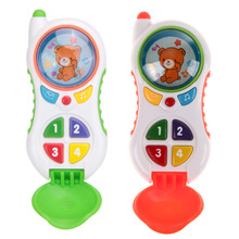 Baby Toy Phone Kids Learning Study Musical Cell Phone Children Educational Toy Mobile Phone Random Color