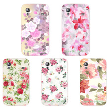 Women Girls' Beautiful Floral Painting Case For Samsung Galaxy Ace S5830 Colorful Flowers Skin Back Cover