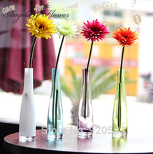 High Quality 1PCS African chrysanthemum flower wedding flower artificial flower silk flower decoration for home table accessorie(China)