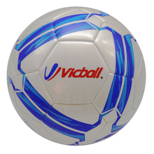 size 5 football machine stitched soccerball(China)