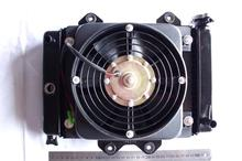 200cc 250cc Water cooling engine cooler Radiator cooling & 12v FAN FOR moto go kart karting quad 4x4 ATV UTV parts
