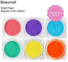 0.2mm (1/128 008) Bright Pearl Regular Color Acrylic Dazzling Glitters Powders Dusts For Nail,Tatto Art,Make Up.(China)