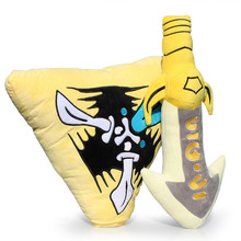 Weapon Infinity Edge Plush & Trinity Force Plush Pillow Doll Toys 45cm Approx Great Gift