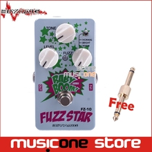 Biyang Baby Boom FZ-10 Electric Guitar Pedal Three Models Fuzz Star Distortion Effect pedal True Bypass with pedal connector