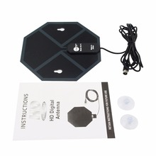 EU X-73 High Definition Digital Home Indoor Antenna Mini Size Portable Home Use Compact Indoor HDTV Antenna With Suction Cup