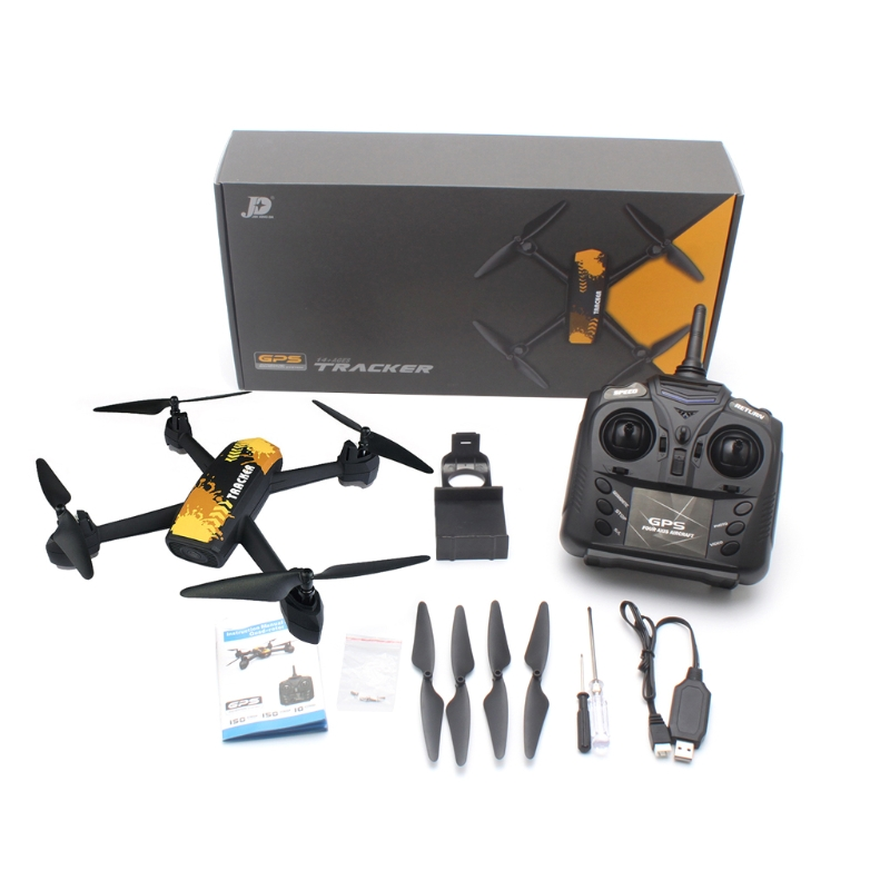 JXD 518 RC Quadcopter 2.4GHz GPS Full 720P HD Camera WIFI FPV Realtime Drone