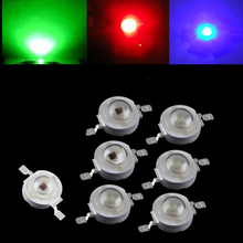 Lot 10 20 50 1W 2W 3W 30mil 45mil  Blue 445nm-460nm Red 620NM-630NM Deep Red 660nm-665nm, Green 520nm-530nm Led Light BeadLamp