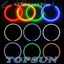 4 pcs/lot 68.5mm, 80mm, 95mm CCFL angel eyes for projector lens , cold cathode fluorescent lamp, angel eyes, 6 colors available