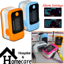 CE/FDA !!  Pulse Oximeter 4 Color choice OLED display, SPO2 PR monitor Factory direct price+ alarm setting!!