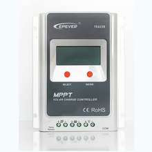 MPPT Solar Charge Controller 30A 12V24V Automatic Transfer Switch LCD Solar Panel Regulator for Solar Power System Tracer3210A(China)