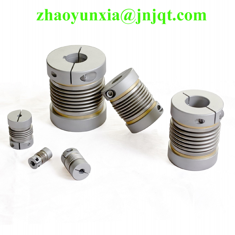 4 pc BW65C 14X14 mm and 2 pc BW65C 22X22 mm clamp type bellows coupling<br>