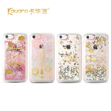 Cover with Rhinestones Original Kingxbar Cover For iPhone 7 Sakura Style Set TPU Crystal From Swarovski For iPhone 7