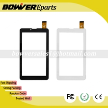 "$ A+  New 7"" cable code Explay Hit 3G TESLA NEON 7.0 Tablet Capacitive touch screen panel Digitizer Glass"